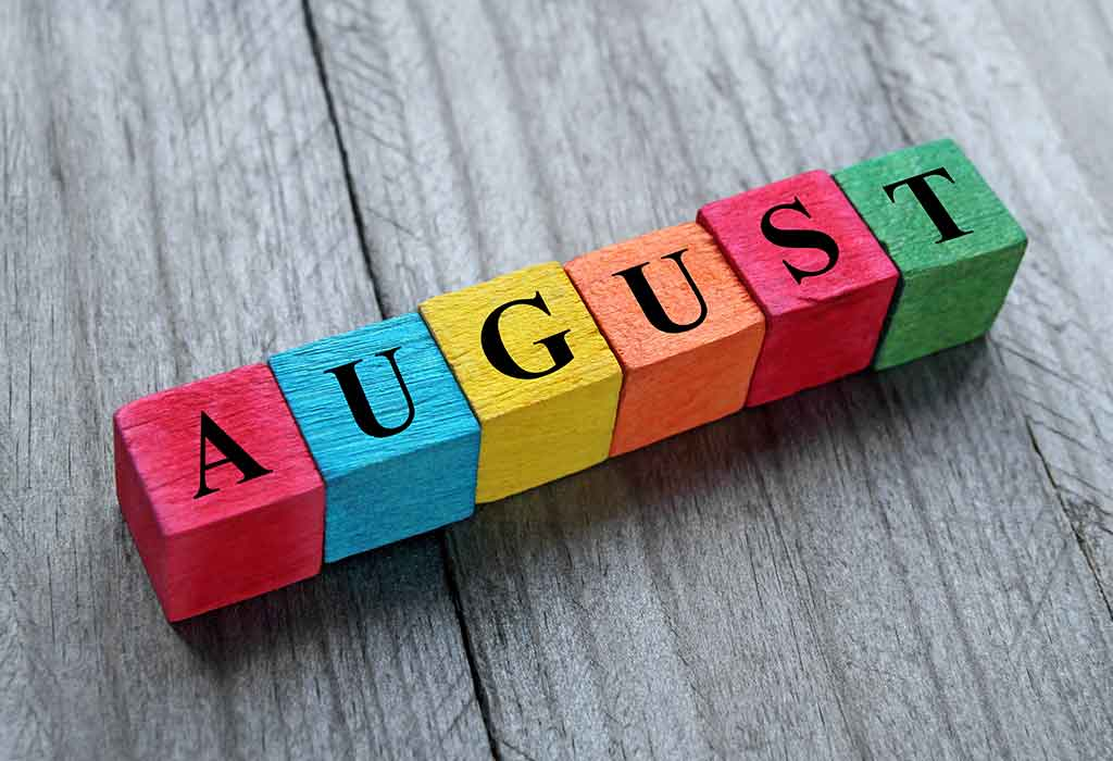 Important Days to Observe and Celebrate in the Month of August 2021