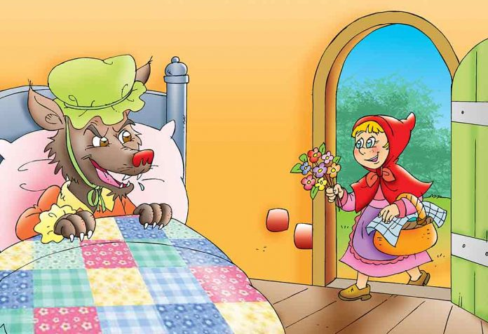 The Story of Little Red Riding Hood For Kids