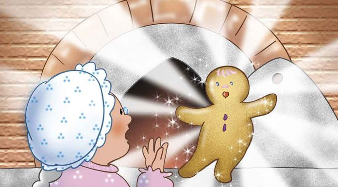 The Story of the Gingerbread Man for Kids