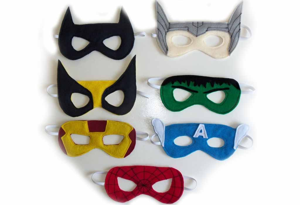 Superhero-Masks