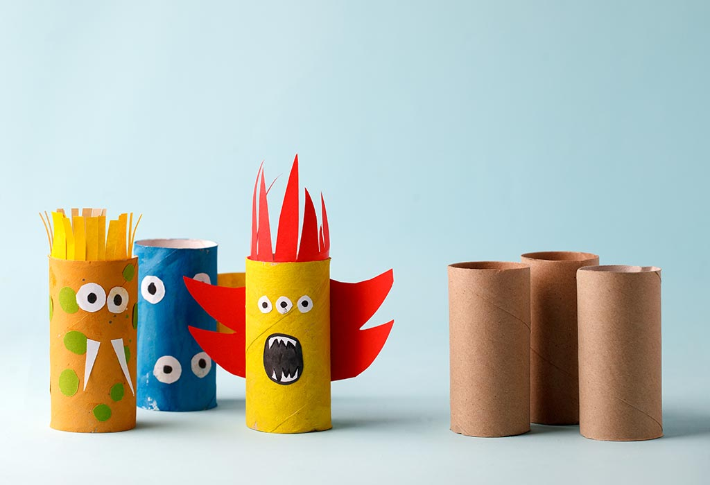 Cardboard Monster