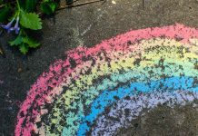 Easy DIY Puffy Sidewalk Paint Recipe for Kids