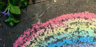 Easy DIY Puffy Sidewalk Paint Recipe for Kids