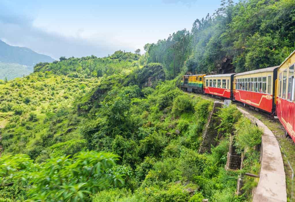 Toy train Kalka-Shimla route