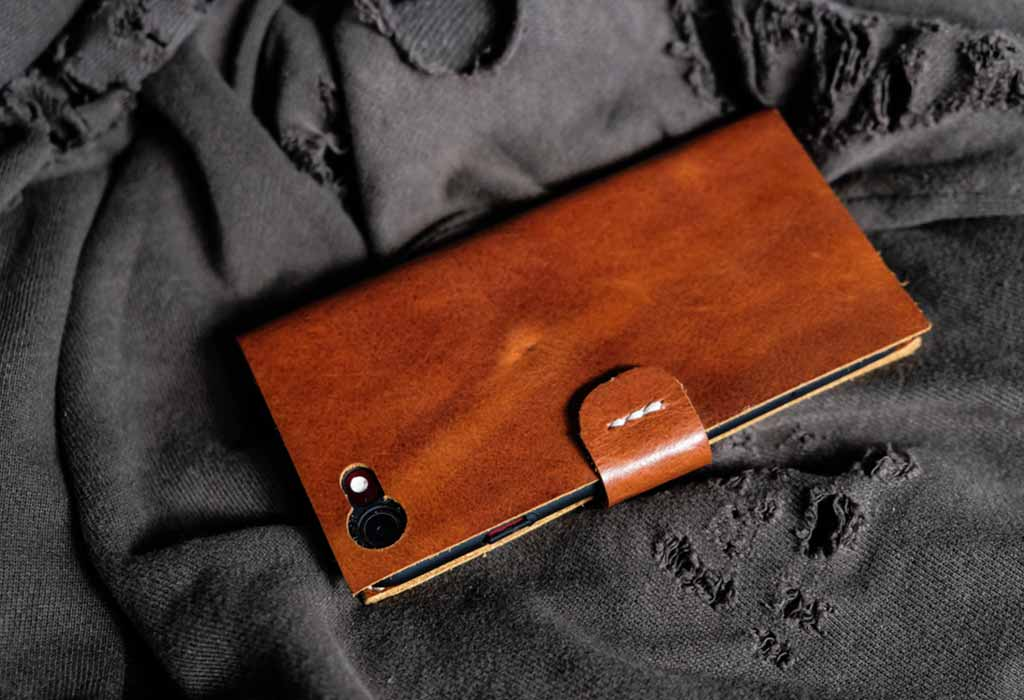 Leather Embossed Phone Case