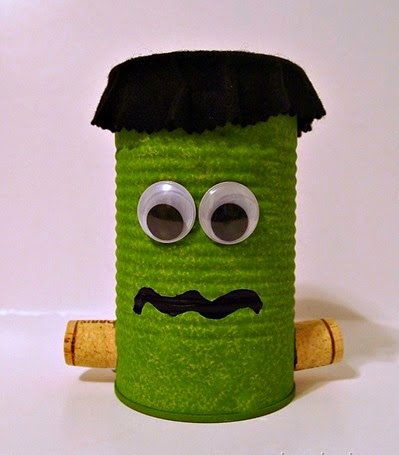 Cute Tin Can Crafts for Kids