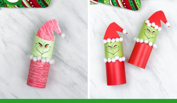 Grinch Crafts for Kids of All Ages