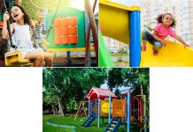 Indoor and Outdoor Play Equipment for Kids