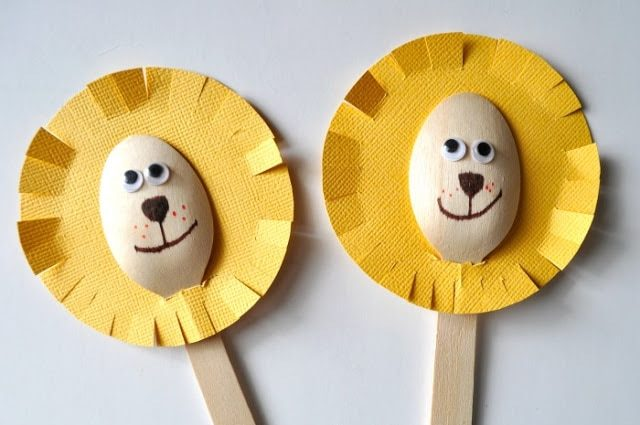 Awesome Lion Crafts for Kids