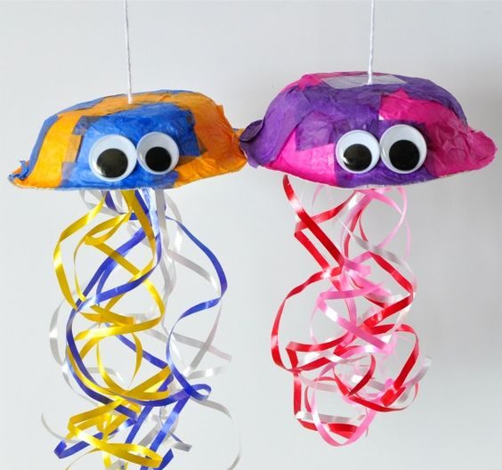 Simple Beach Inspired Craft Ideas for Kids