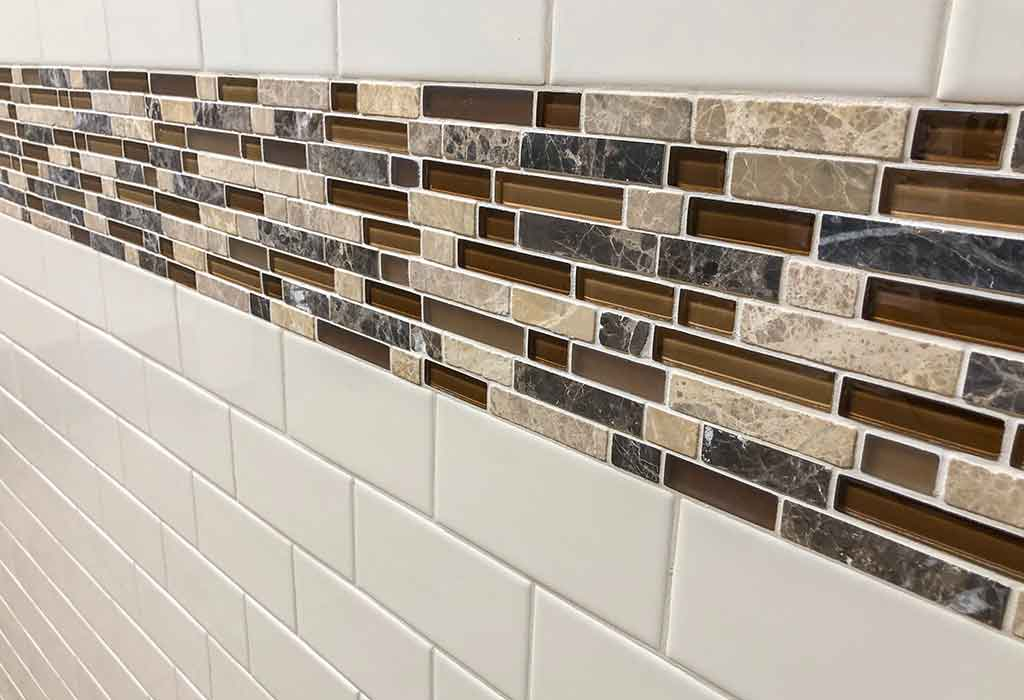 Use contrasting grout