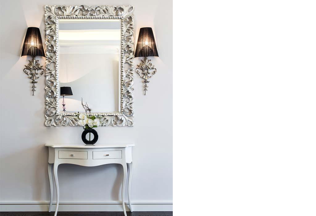 Use A Large Decorative Mirror