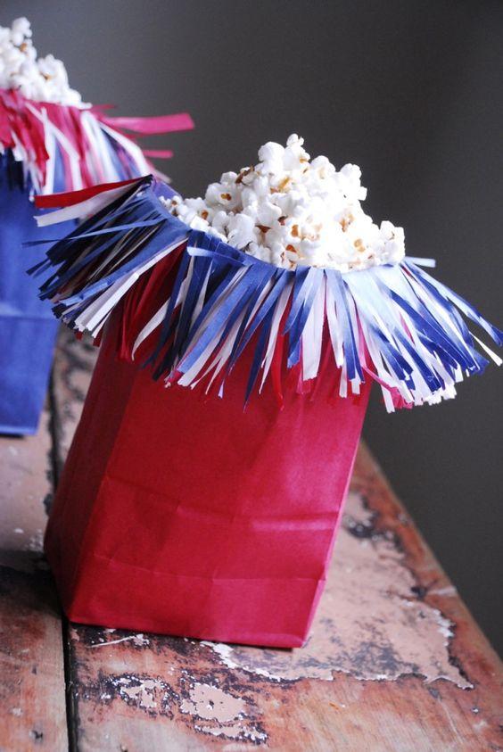 firecracker popcorn bag
