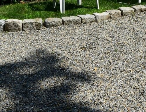 Crushed Stone and Gravel Driveway