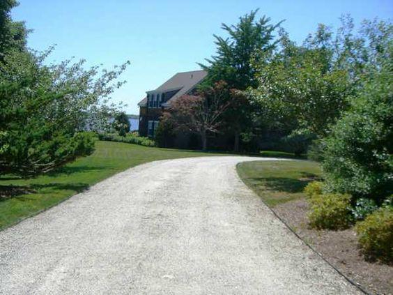 Natural Landscaping Driveway