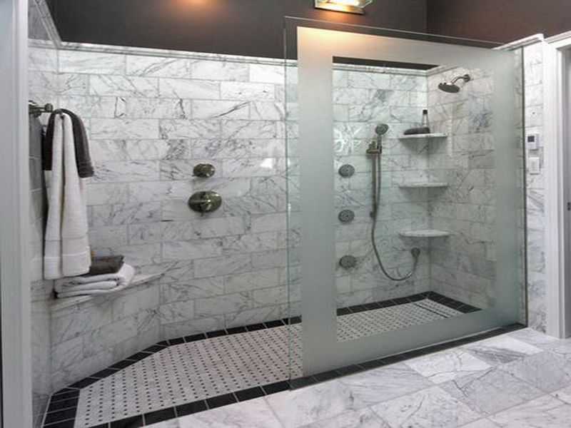 Bigger Showers Without Tubs