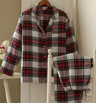 Scottish Checked Loungewear