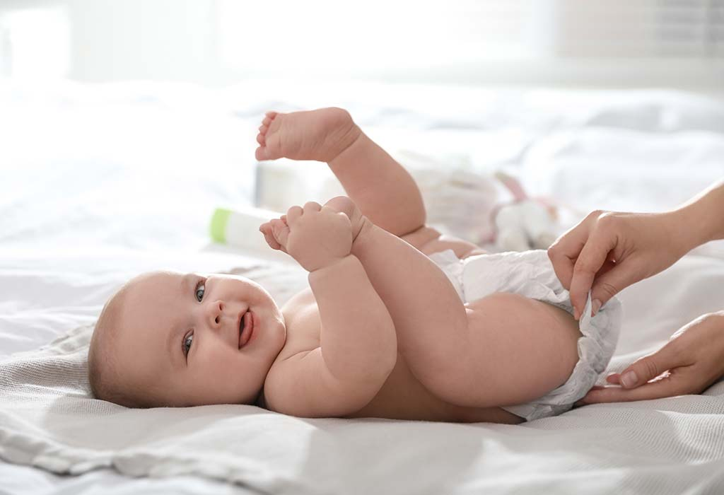 Change your baby's diapers frequently