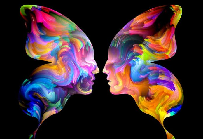 representation of twin flame; signs you met your mirror soul
