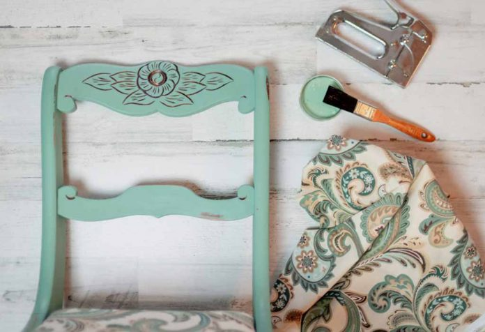 Reupholstering a Dining Chair to Give It a Stylish New Look