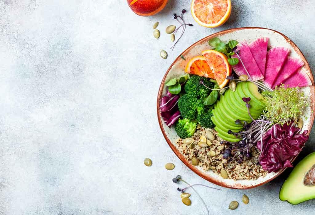 One Week Sample Menu For Plant-based Diet