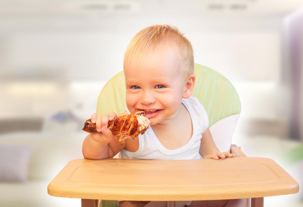 बाळांच्या आहारात चिकनचा समावेश करणे